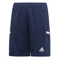 Adidas TEAM19 Knit Shorts Youth - Team Navy Blue/White