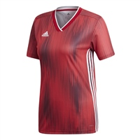 Adidas TIRO19 Jersey Womens - Power Red/White