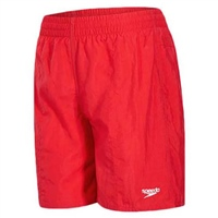 Speedo Boys Solid Leisure Shorts - Red