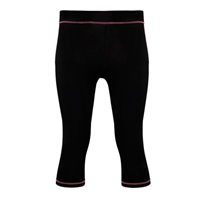 Tri-Dri Womens Leggings - Black/Pink