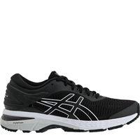 Asics Womens Gel Kayano 25 - Black/Glacier Grey