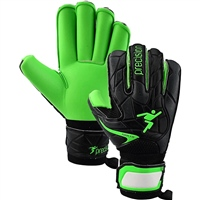 Precision Fusion X.3D Goalkeeper Gloves - Green/Black
