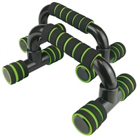 UFE Urban Fitness Push Up Bars - Black/Green