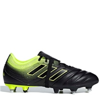 Adidas Copa Gloro 19.2 SG Football Boots - Black/SafetyYellow
