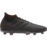 Adidas Predator 19.3 FG Football Boot - Black/Black