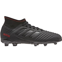 Adidas Predator 19.3 FG J Kids Football Boot - Black/Black