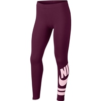 Nike Girls Favorite Leggings GX3 - Burgundy/Pink