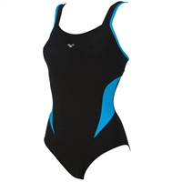 Speedo Boom Placement Racerback - Black/Blue