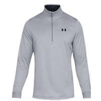 Under Armour Mens Armour Fleece 1/2 Zip - Grey