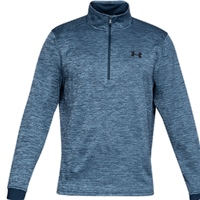 Under Armour Mens Armour Fleece 1/2 Zip - Navy