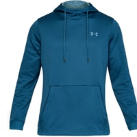 Under Armour Mens Armour Fleece PO Hoodie - Blue