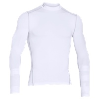 Under Armour Mens Cold Gear Armour Mock - White