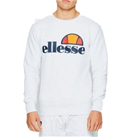 Ellesse Mens Succiso Crew Sweat - WhiteMarl