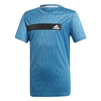 Adidas Boys TR Cool T-Shirt - Blue/Black