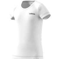 Adidas Girls TR Linear T-Shirt - White