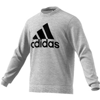 Adidas Mens BOS Crew Sweat Top - Grey