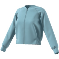 Adidas Womens Id Glory Bomber Jacket - Blue