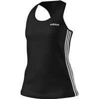 Adidas Womens D2M 3S Tank - Black/White