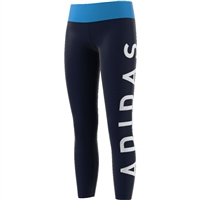 Adidas Girls Training BR Tights - Navy/Sky/White