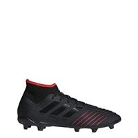 Adidas Predator 19.2 FG Football Boot - Black/Red