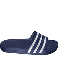 Adidas Adults Adilette Aqua Slides - Navy