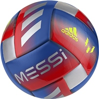 Adidas Messi CPT Soccer Ball - Red/Blue/Silver