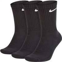 Nike Everyday Cushion Crew Sock (3pk) - Black/White
