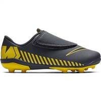 Nike Jr Vapor 12 Club PS (V) FG/MG Boots - Grey/Yellow