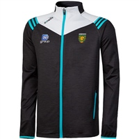 ONeills Donegal Colorado FZ Brushed Jkt - Black/Silver/Cyan