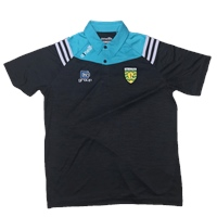 ONeills Donegal Colorado Polo Shirt - Black/Cyan/Silver
