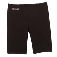 Speedo Boys Endurance Jammer Swim Shorts - Black