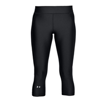Under Armour Womens HeatGear Armour Capris - Black