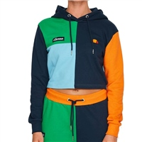 Ellesse Womens Canel Cropped Hoody - Multi