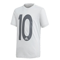 Adidas Boys Messi Icon Jersey - Grey