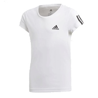 Adidas Girls Training EQ T-Shirt - White/Black