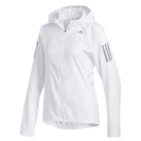 Adidas Womens Own The Run Hooded Jacket - White