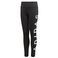 Adidas Girls Training BR Tights - Black/White