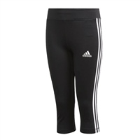 Adidas Girls Training EQ 3/4 Tights - Black/White