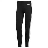 Adidas Womens Run 3S Tight - Black/White
