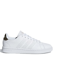 Adidas Womens Advantage Runners - White