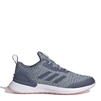 Adidas Kids Rapidarun X Knit J Trainers - Grey/Blue