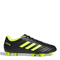 Adidas Copa 19.4 FG Football Boots - Black/S.Yellow