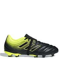 Adidas Copo Gloro 19.2 FG Football Boots - Black/SafetyYellow
