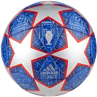 Adidas Champions League 19 Finale Ball - Silver/Blue