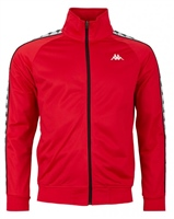 Kappa Mens Banda Anniston Track Jkt - Red
