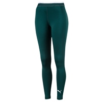 Puma Womens Soft Sports Leggings - Pine Green