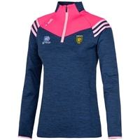ONeills Donegal Colorado Girls/Ladies HZ Top - Navy/Pink