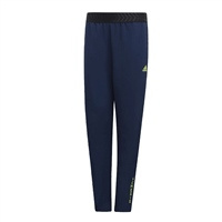 Adidas Boys Messi Track Pants - Navy/SafetyYellow