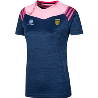 ONeills Donegal Colorado Girls T-Shirt - Navy/Pink