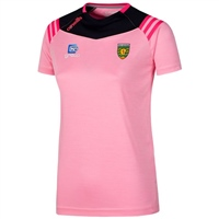 ONeills Donegal Colorado Girls T-Shirt - Pink/Navy